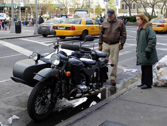 Урал в Нью Йорке - людям интересно