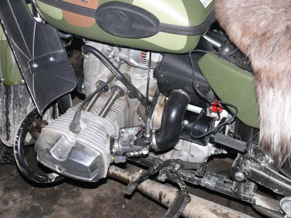 мотоклуб УРАЛ, зимобайкер, конденсат, сапун