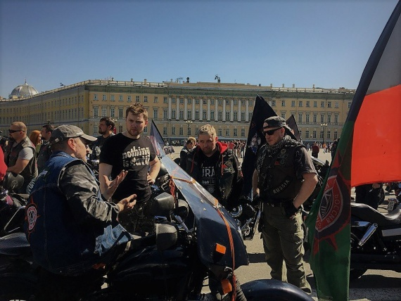 УРАЛ Мотоклуб (Ural Owners Group), открытие сезона СПб