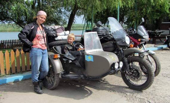 Мотоклуб УРАЛ (Ural Owners Group), Аня Рехтина