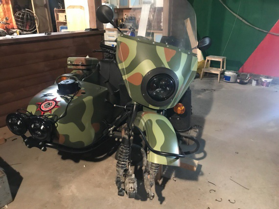 Великий гон, мотоклуб урал