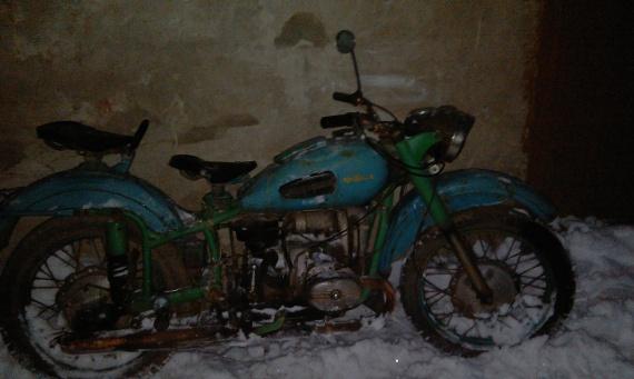 То что я увидел когда приехал забирать мотоцикл