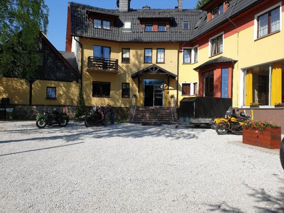 Гостиница в польском городке Шклярска-Поремба