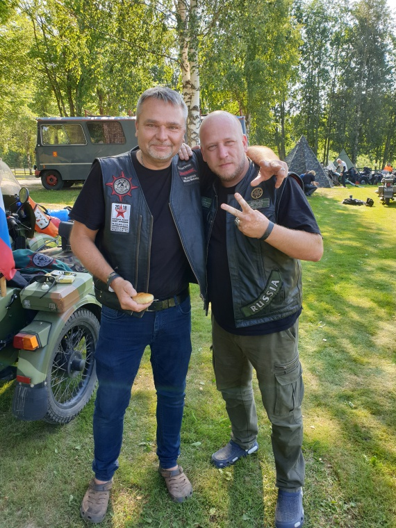 Николай Дон и Павел, президенты