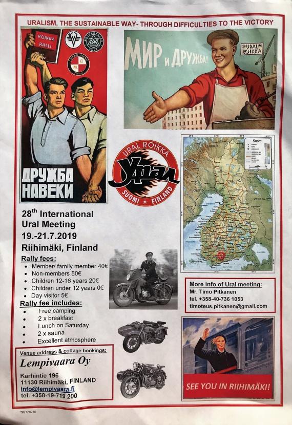 Листовка мероприятия Ural Roikka