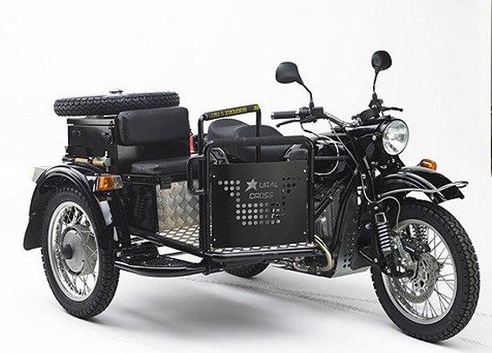 Мотоцикл урал для туризма своими руками 40