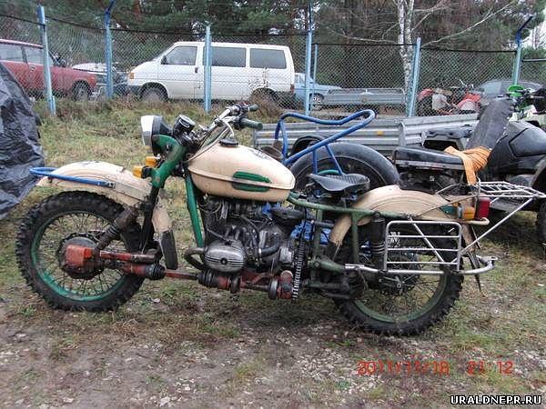 Передний привод на мотоцикл урал