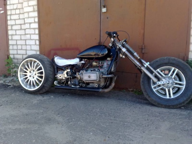 Переделки мотоцикла урал своими руками