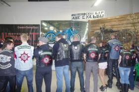 Братский мотоклуб ШТРАФБАТ в размес с УРАЛОГами